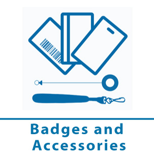 badges and accessories