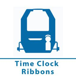 Time clock ribbons